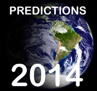 Top 10 Psychic Predictions For 2014